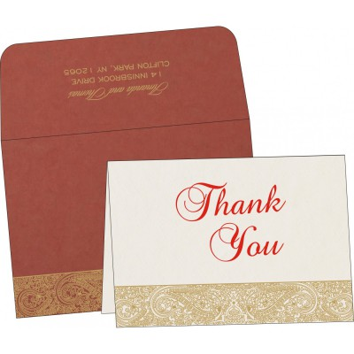 Thank You Cards - TYC-8234L