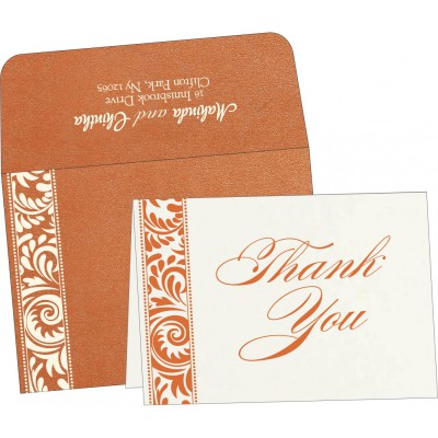 Thank You Cards - TYC-8235G