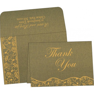 Thank You Cards - TYC-8236H