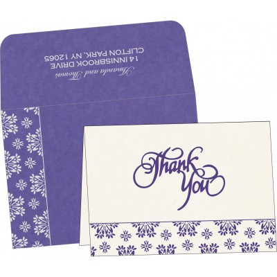 Thank You Cards - TYC-8237A