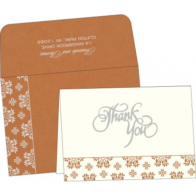 Thank You Cards - TYC-8237J