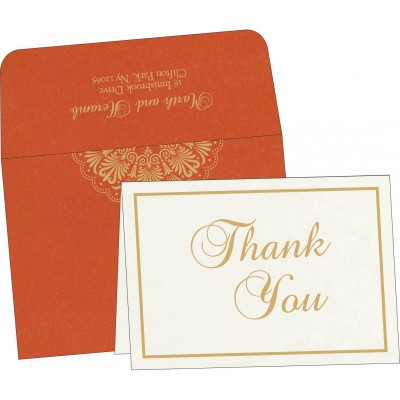 Thank You Cards - TYC-8238F