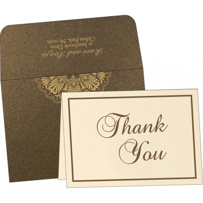 Thank You Cards - TYC-8238G
