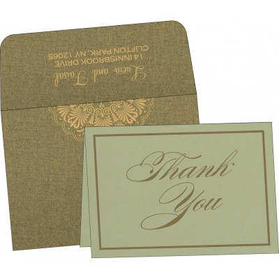 Thank You Cards - TYC-8238K