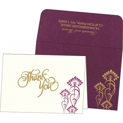 Thank You Cards - TYC-8239B