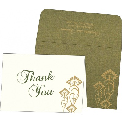 Thank You Cards - TYC-8239F
