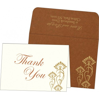 Thank You Cards - TYC-8239H