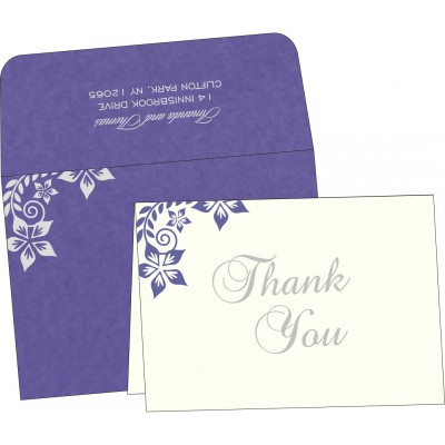 Thank You Cards - TYC-8240B