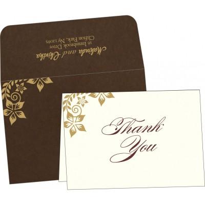 Thank You Cards - TYC-8240E