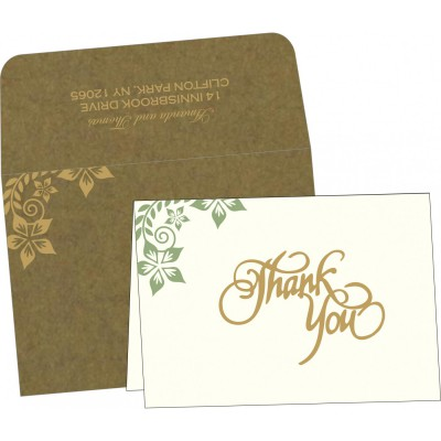 Thank You Cards - TYC-8240F
