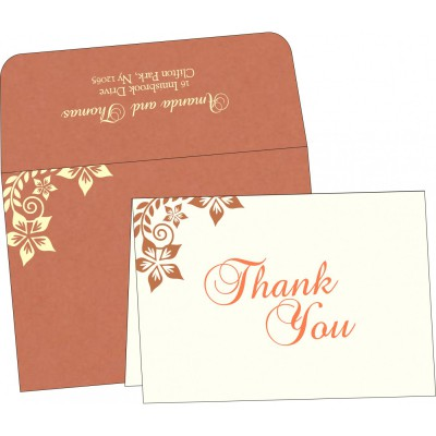 Thank You Cards - TYC-8240H