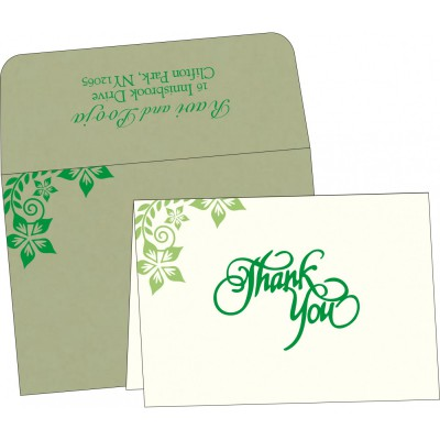Thank You Cards - TYC-8240I