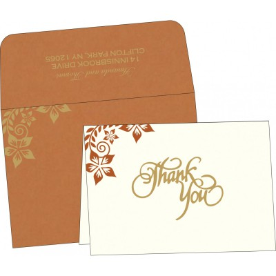 Thank You Cards - TYC-8240L