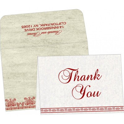 Thank You Cards - TYC-8241B