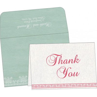 Thank You Cards - TYC-8241C