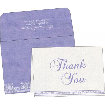 Thank You Cards - TYC-8241D