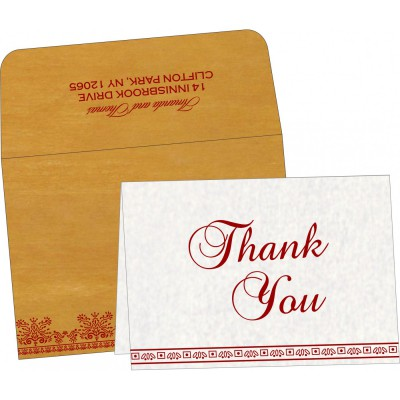 Thank You Cards - TYC-8241J