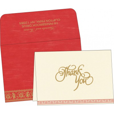 Thank You Cards - TYC-8242A