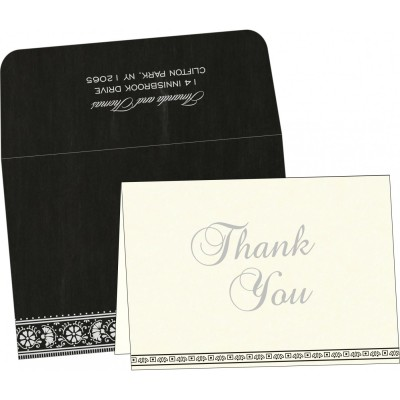 Thank You Cards - TYC-8242B