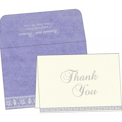 Thank You Cards - TYC-8242C