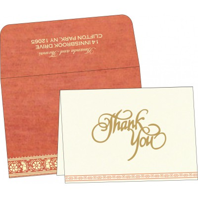 Thank You Cards - TYC-8242I