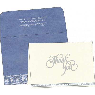 Thank You Cards - TYC-8242J