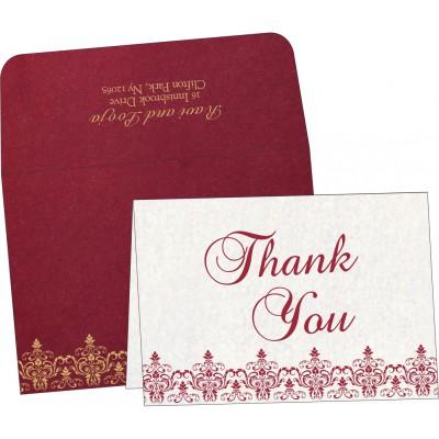 Thank You Cards - TYC-8244E