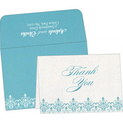 Thank You Cards - TYC-8244F
