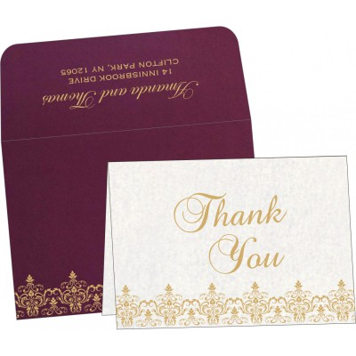 Thank You Cards - TYC-8244H