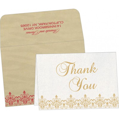 Thank You Cards - TYC-8244J
