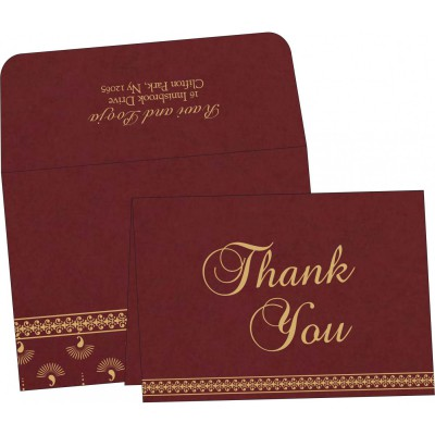 Thank You Cards - TYC-8247D