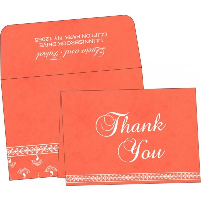 Thank You Cards - TYC-8247I
