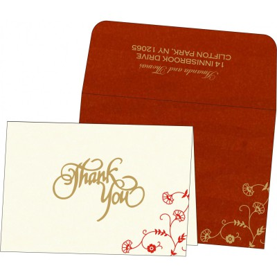 Thank You Cards - TYC-8248A