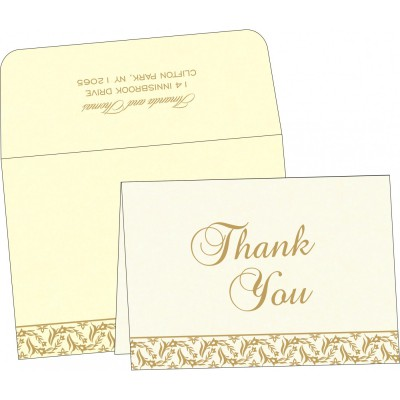 Thank You Cards - TYC-8249B