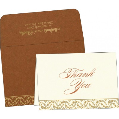 Thank You Cards - TYC-8249F