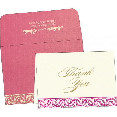 Thank You Cards - TYC-8249K