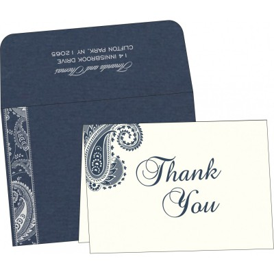 Thank You Cards - TYC-8250E