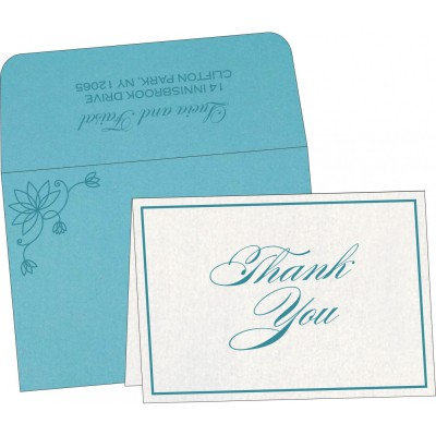 Thank You Cards - TYC-8251G