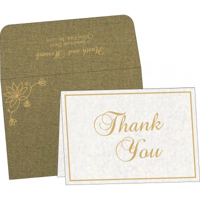 Thank You Cards - TYC-8251K