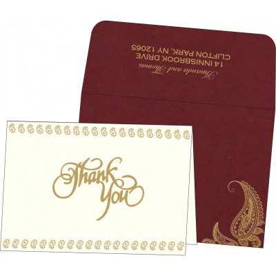 Thank You Cards - TYC-8252A