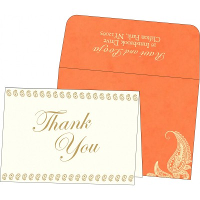 Thank You Cards - TYC-8252D