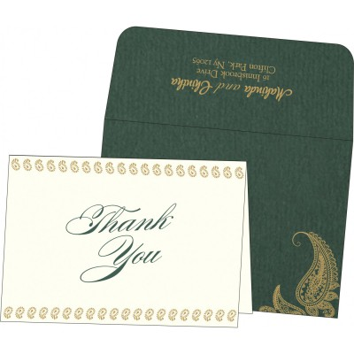 Thank You Cards - TYC-8252E