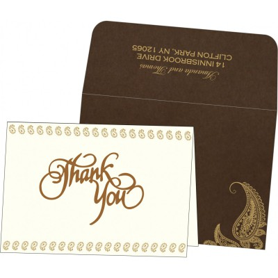 Thank You Cards - TYC-8252F