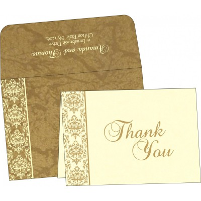 Thank You Cards - TYC-8253H