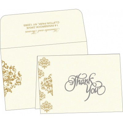 Thank You Cards - TYC-8254A