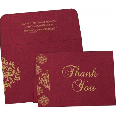 Thank You Cards - TYC-8254B
