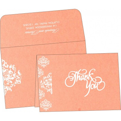 Thank You Cards - TYC-8254G