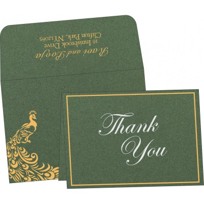 Thank You Cards - TYC-8255D