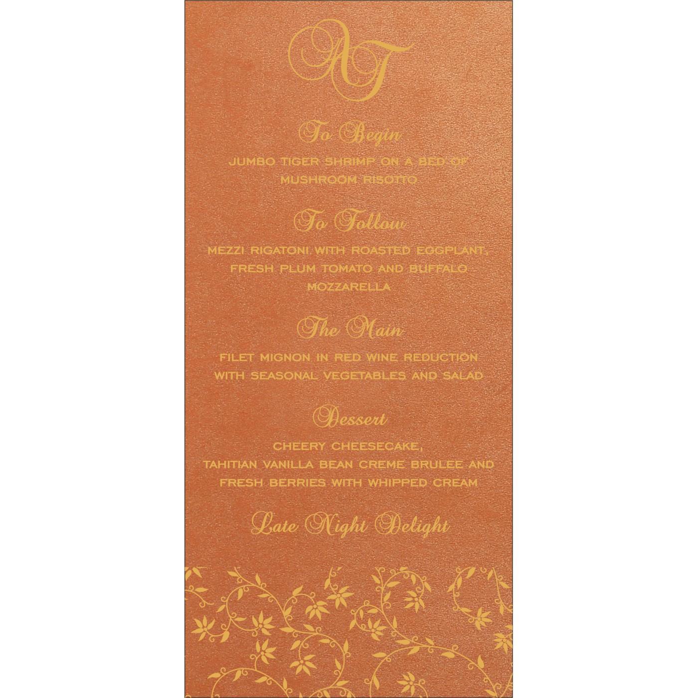 Menu Cards - MENU-8226E