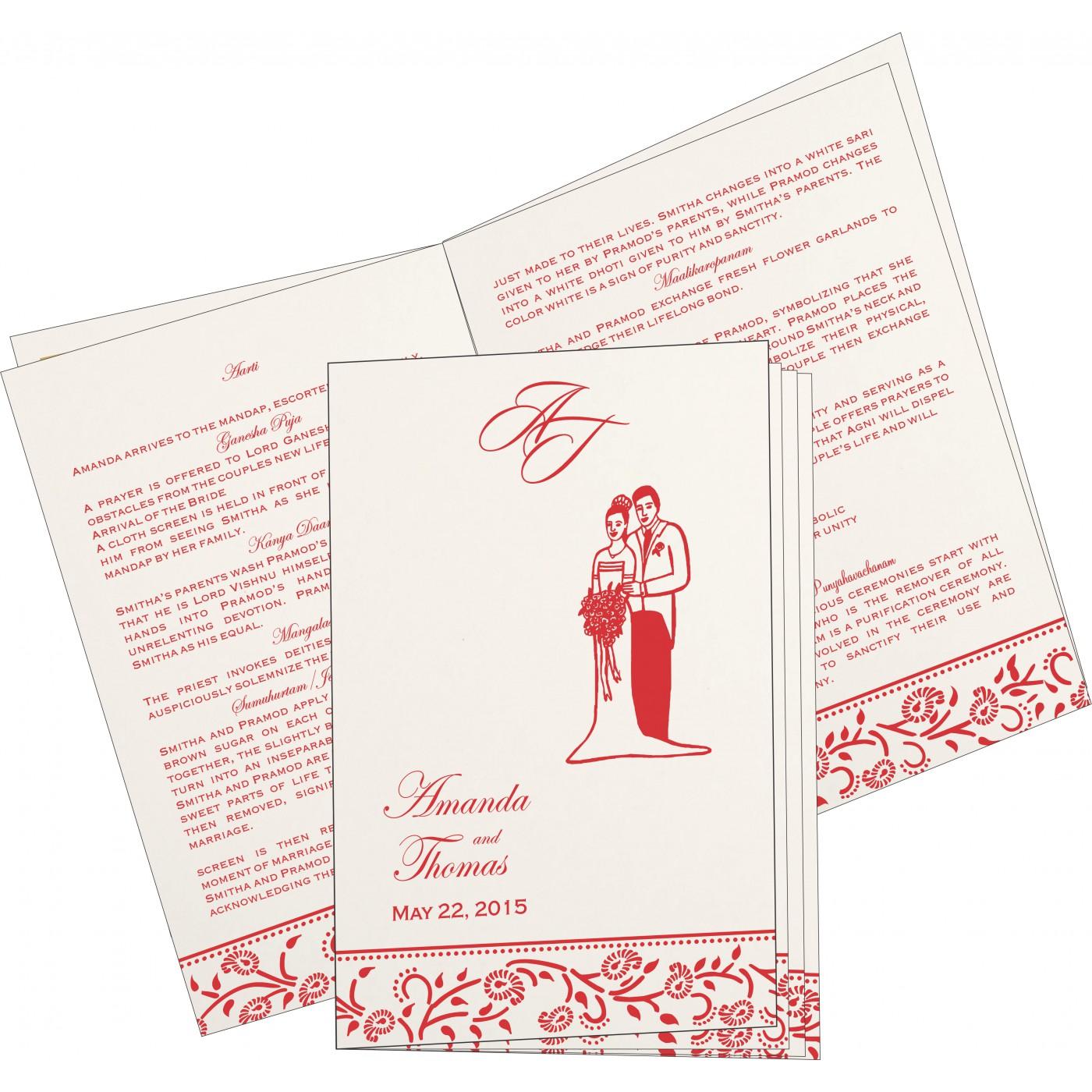 Program Booklet - PC-8206H